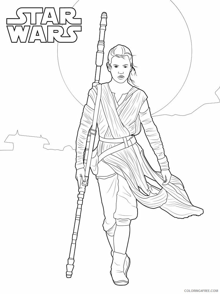 Star Wars Coloring Pages TV Film Star Wars 52 Printable 2020 08012 Coloring4free