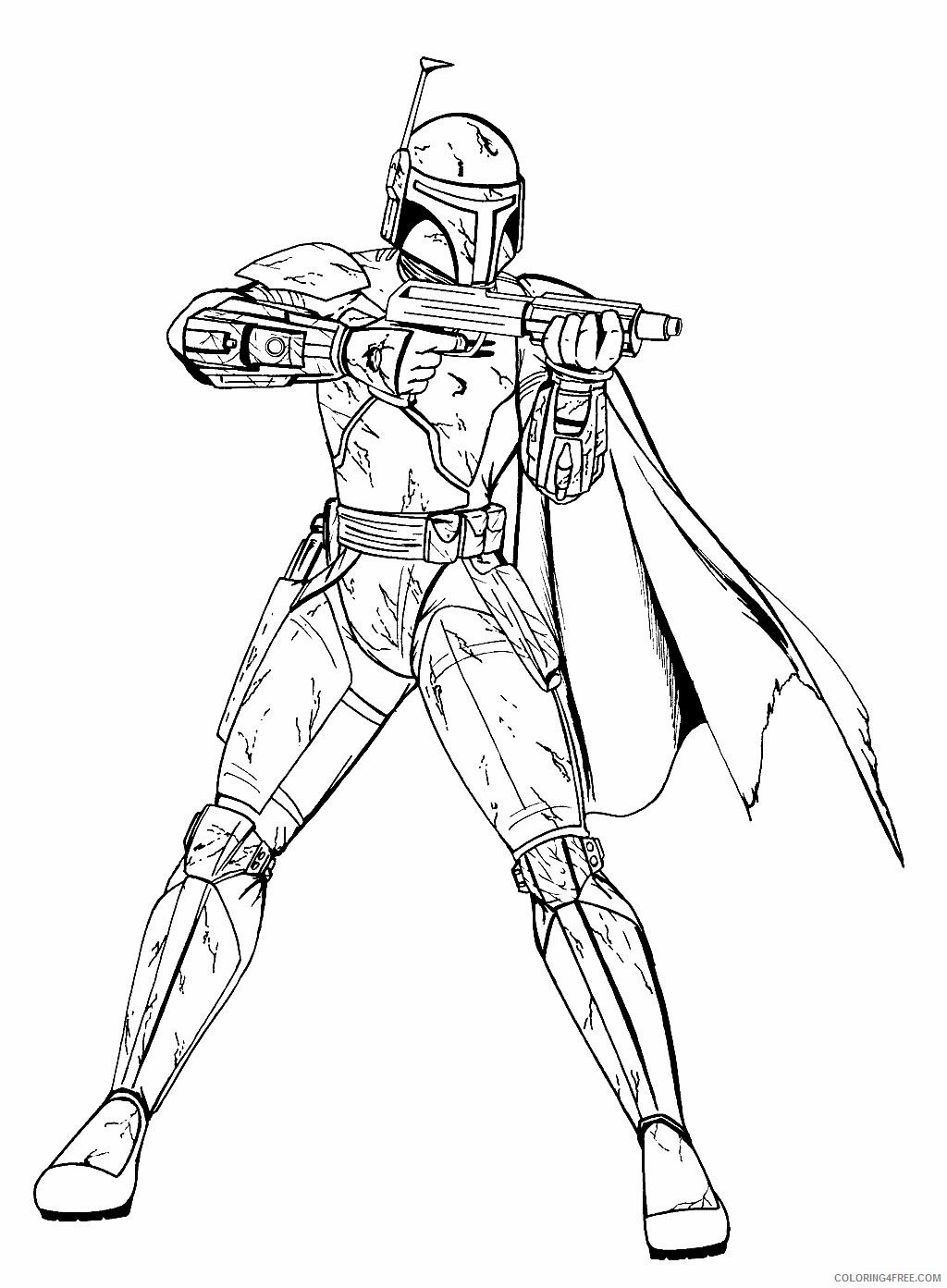 Star Wars Coloring Pages TV Film Star Wars Free Printable 2020 08032 Coloring4free