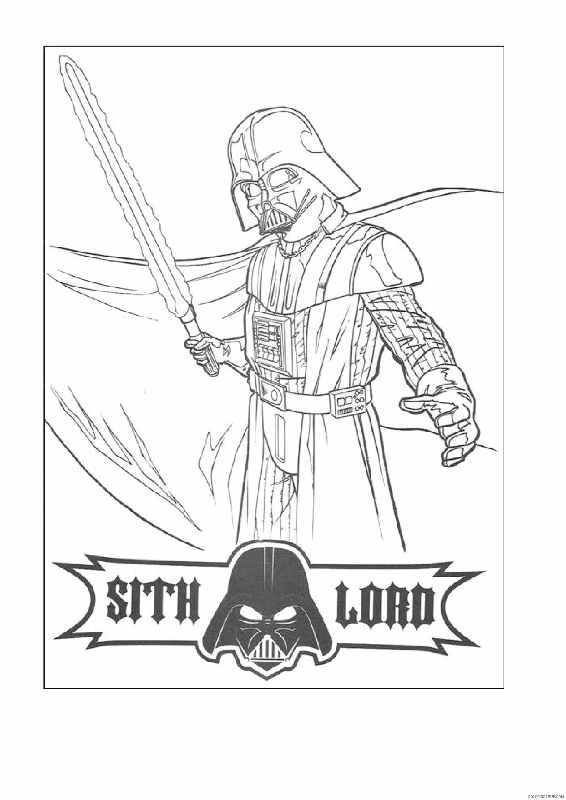 Star Wars Coloring Pages TV Film Star Wars Kids Printable 2020 08029 Coloring4free