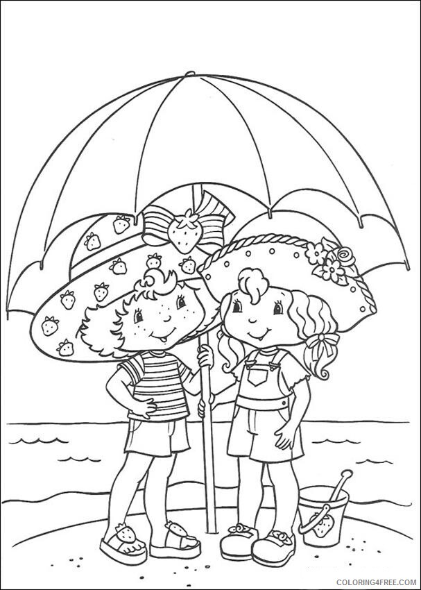Strawberry Shortcake Coloring Pages TV Film To Print Printable 2020 08211 Coloring4free