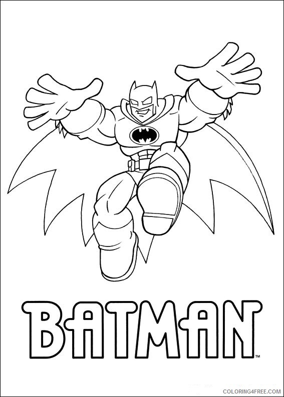 Super Friends Coloring Pages TV Film superfriends 11 2 Printable 2020 08259 Coloring4free