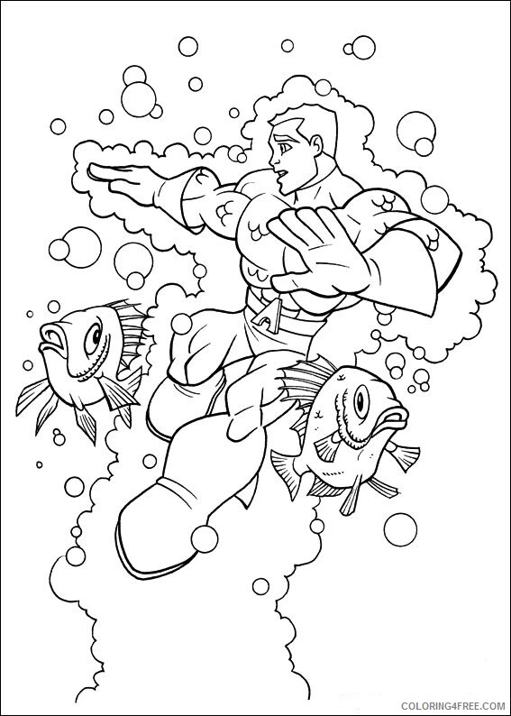 Super Friends Coloring Pages TV Film superfriends 12 2 Printable 2020 08261 Coloring4free