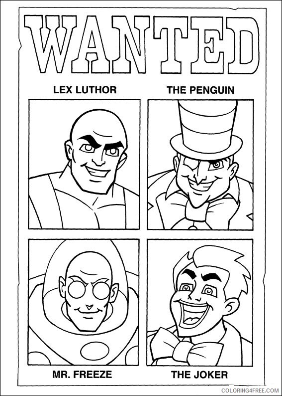 Super Friends Coloring Pages TV Film superfriends 19 2 Printable 2020 08275 Coloring4free