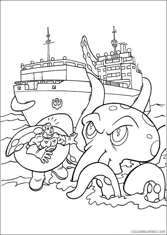 Super Friends Coloring Pages TV Film superfriends 6 2 Printable 2020 08289 Coloring4free