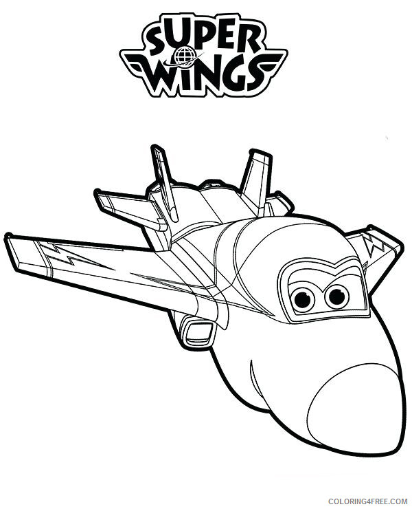 Super Wings Coloring Pages TV Film Super Wings Printable 2020 08357 Coloring4free