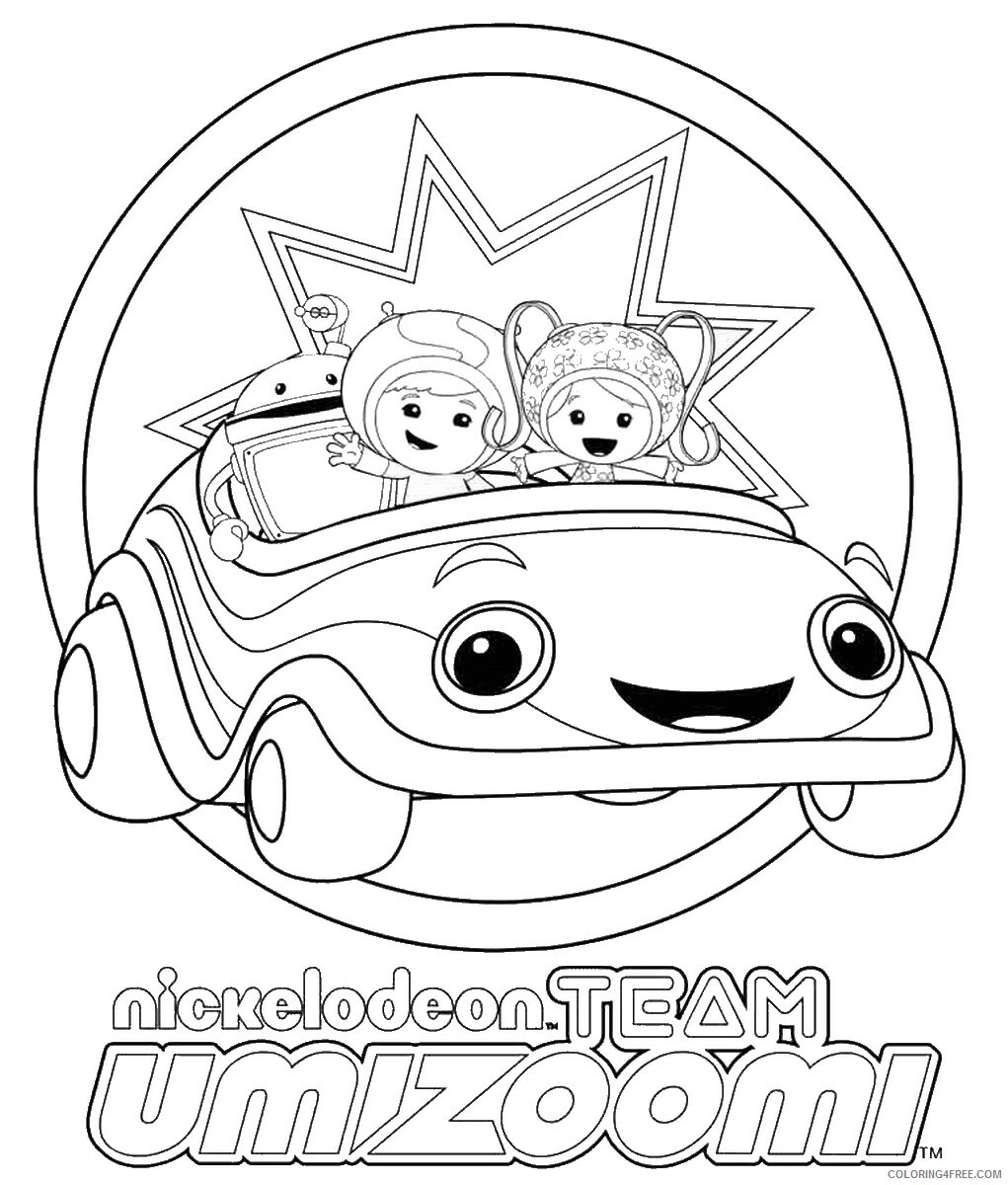 Team Umizoomi Coloring Pages TV Film Team Umizoomi 01 Printable 2020 08438 Coloring4free