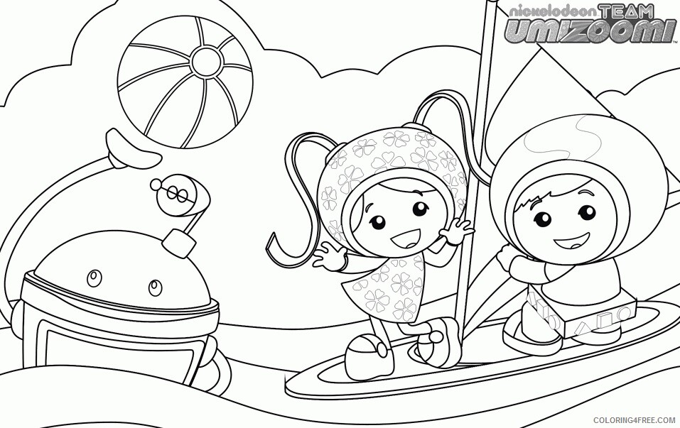 Team Umizoomi Coloring Pages TV Film Team Umizoomi Printable 2020 08452 Coloring4free