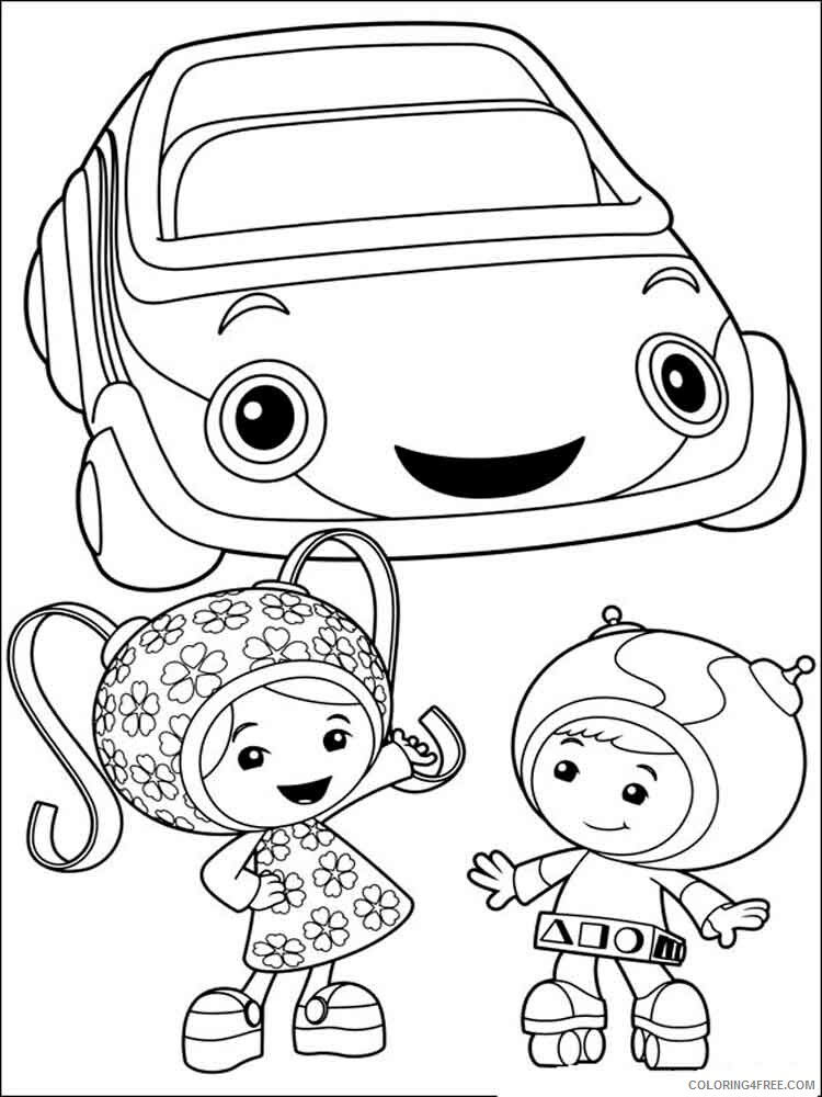 Team Umizoomi Coloring Pages TV Film umizoomi 15 Printable 2020 08472 Coloring4free