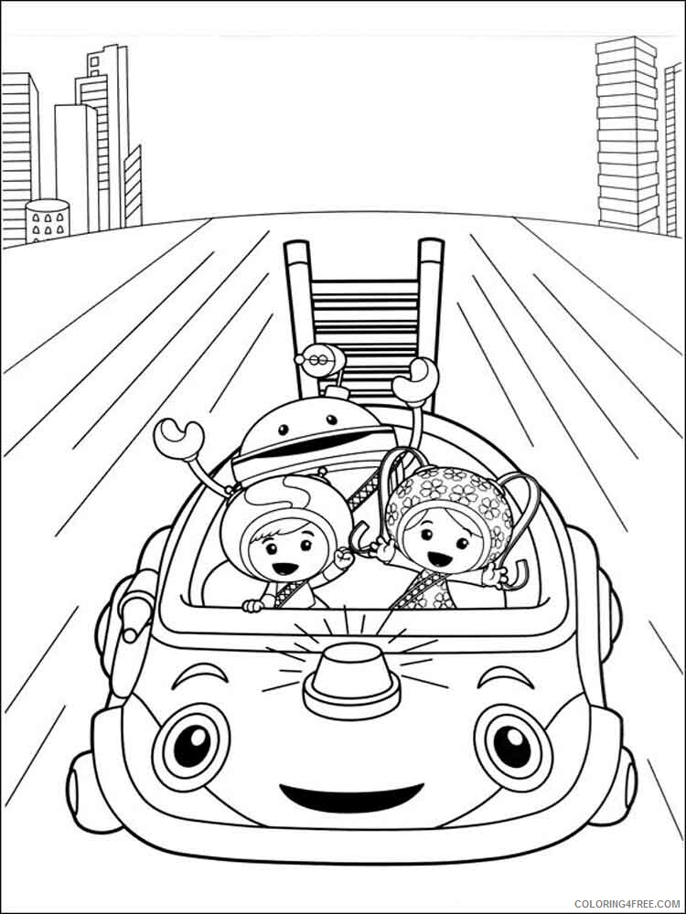 Team Umizoomi Coloring Pages TV Film umizoomi 16 Printable 2020 08473 Coloring4free