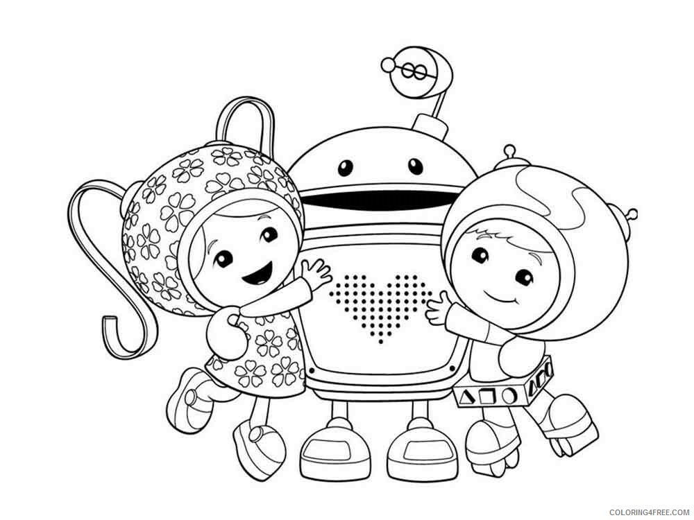 Team Umizoomi Coloring Pages TV Film umizoomi 8 Printable 2020 08480 Coloring4free