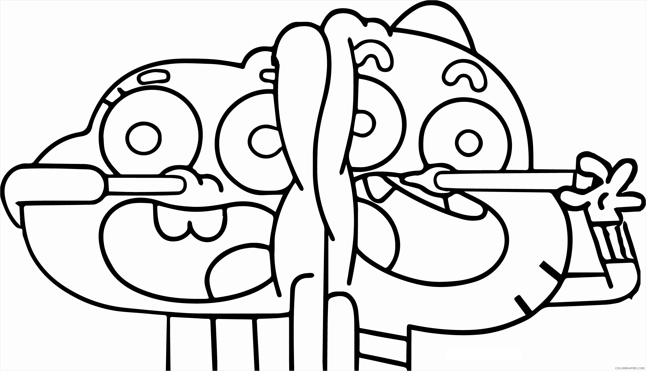 https coloring4free com the amazing world of gumball coloring pages tv film loathsomeness 2020 05 coloring4free