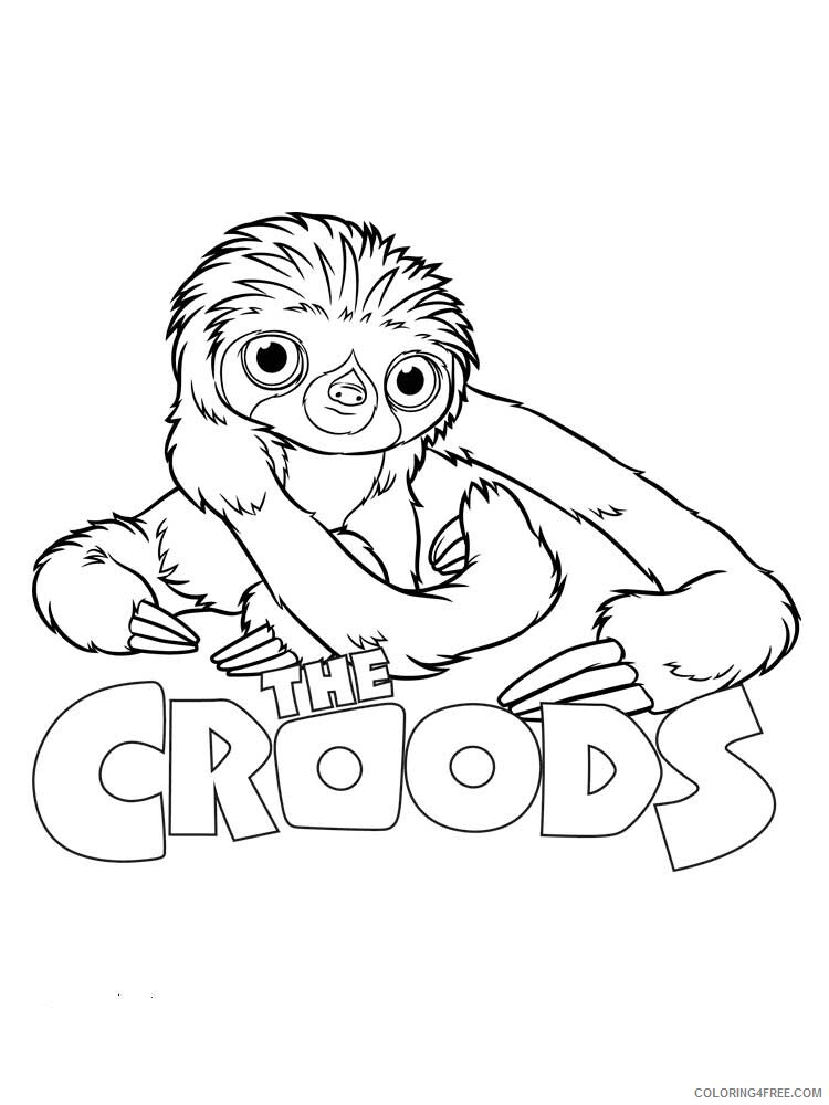 The Croods Coloring Pages TV Film The Croods 6 Printable 2020 08617 Coloring4free