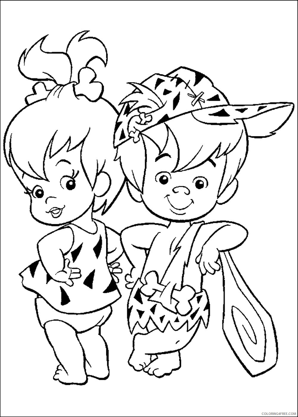 The Flintstones Coloring Pages TV Film flinstones_cl_22 Printable 2020 08739 Coloring4free