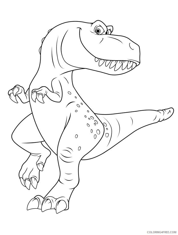 The Good Dinosaur Coloring Pages TV Film Printable 2020 08814 Coloring4free
