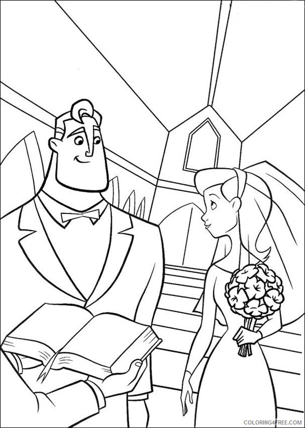 The Incredibles Coloring Pages TV Film Color the Incredibles Printable 2020 08856 Coloring4free