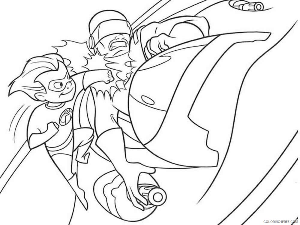 The Incredibles Coloring Pages TV Film incredibles 22 Printable 2020 08880 Coloring4free