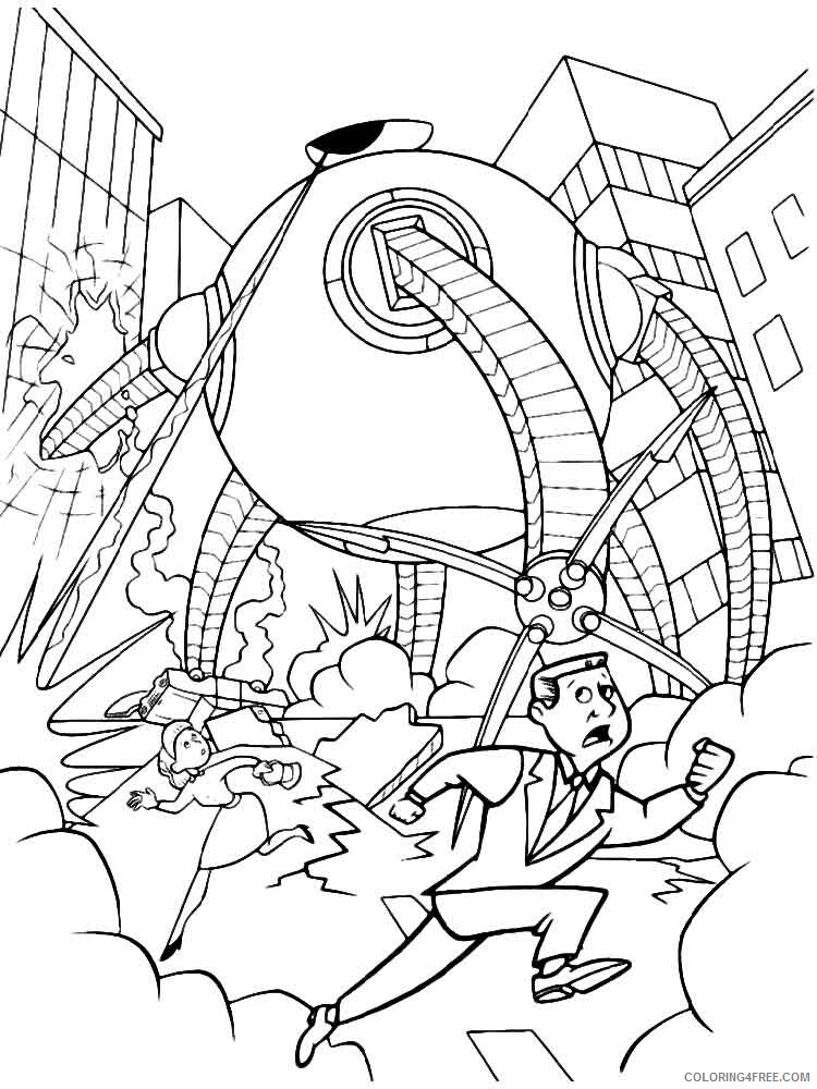 The Incredibles Coloring Pages TV Film incredibles 25 Printable 2020 08882 Coloring4free