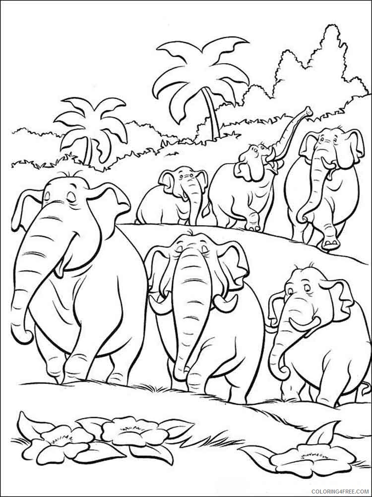 The Jungle Book Coloring Pages TV Film jungle book 25 Printable 2020 08969 Coloring4free