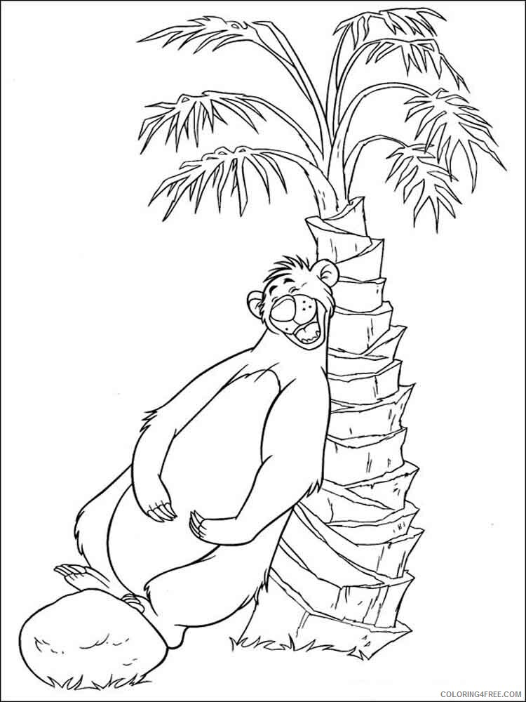 The Jungle Book Coloring Pages TV Film jungle book 29 Printable 2020 08972 Coloring4free