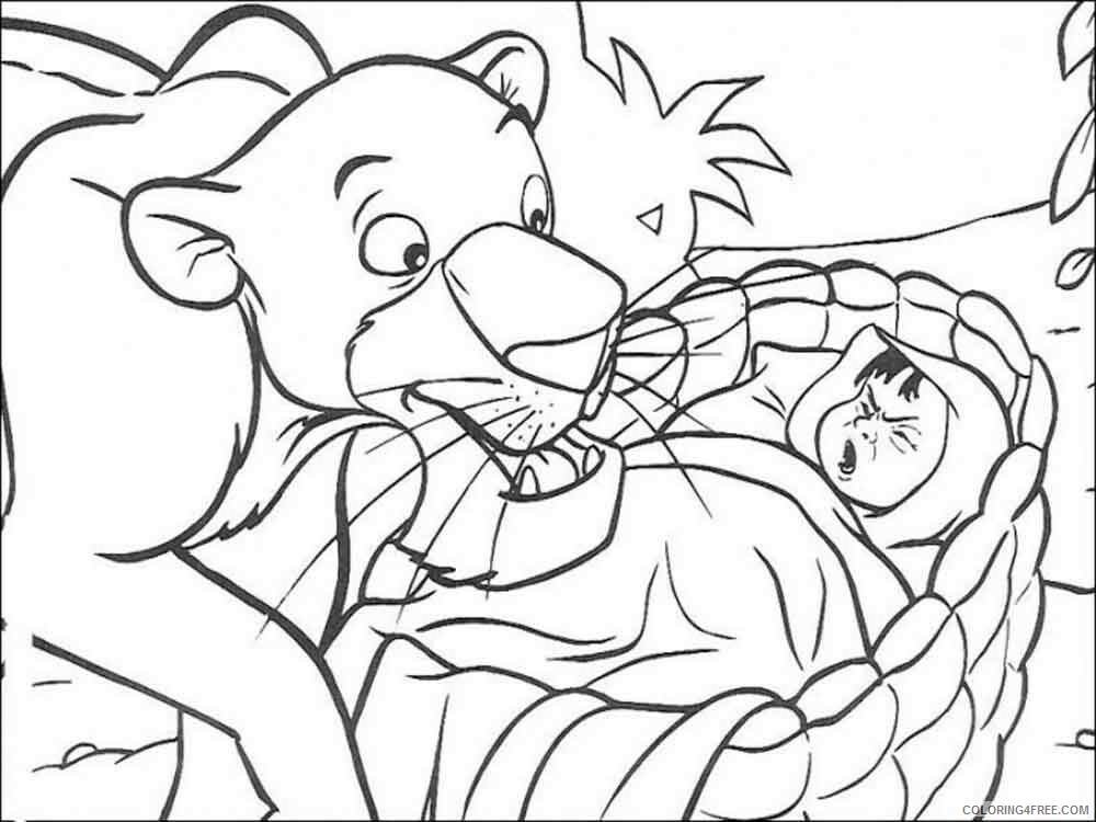 The Jungle Book Coloring Pages TV Film jungle book 31 Printable 2020 08974 Coloring4free
