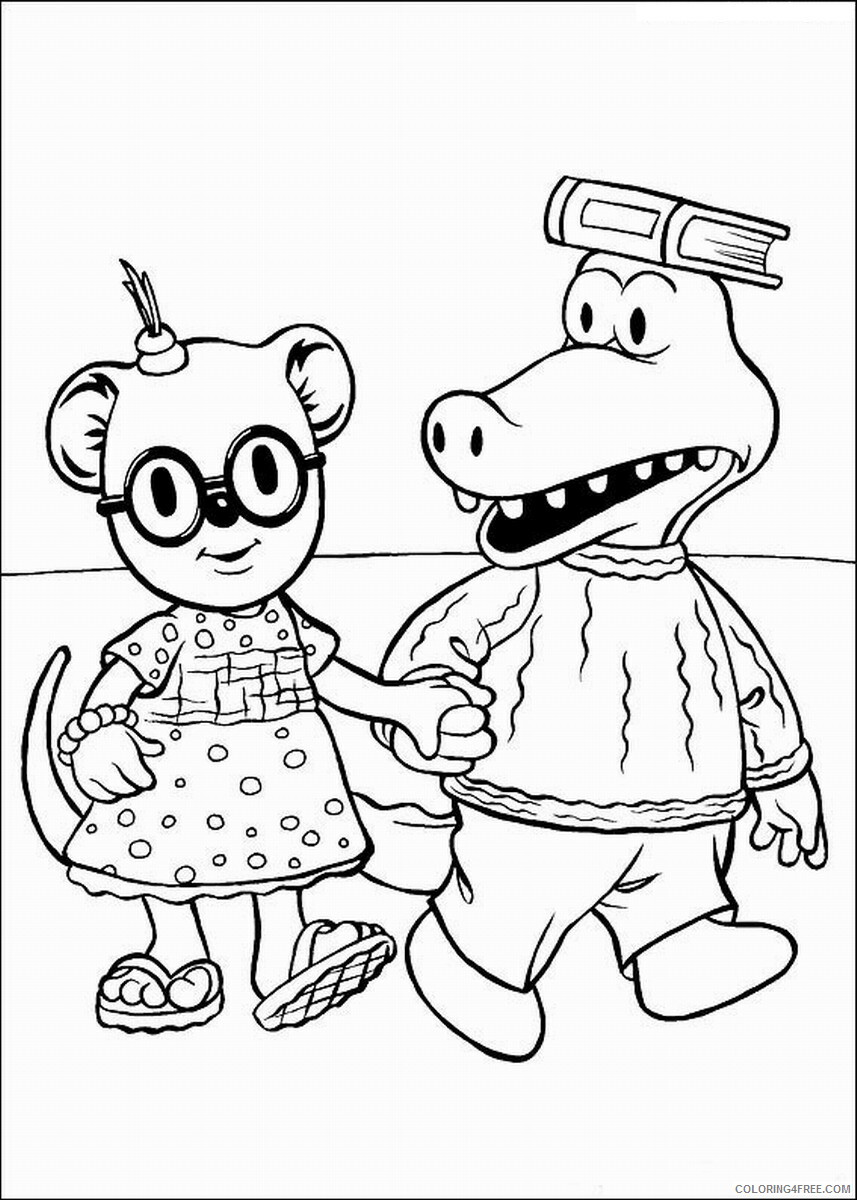 The Koala Brothers Coloring Pages TV Film Koala_Brothers_20 Printable 2020 09014 Coloring4free