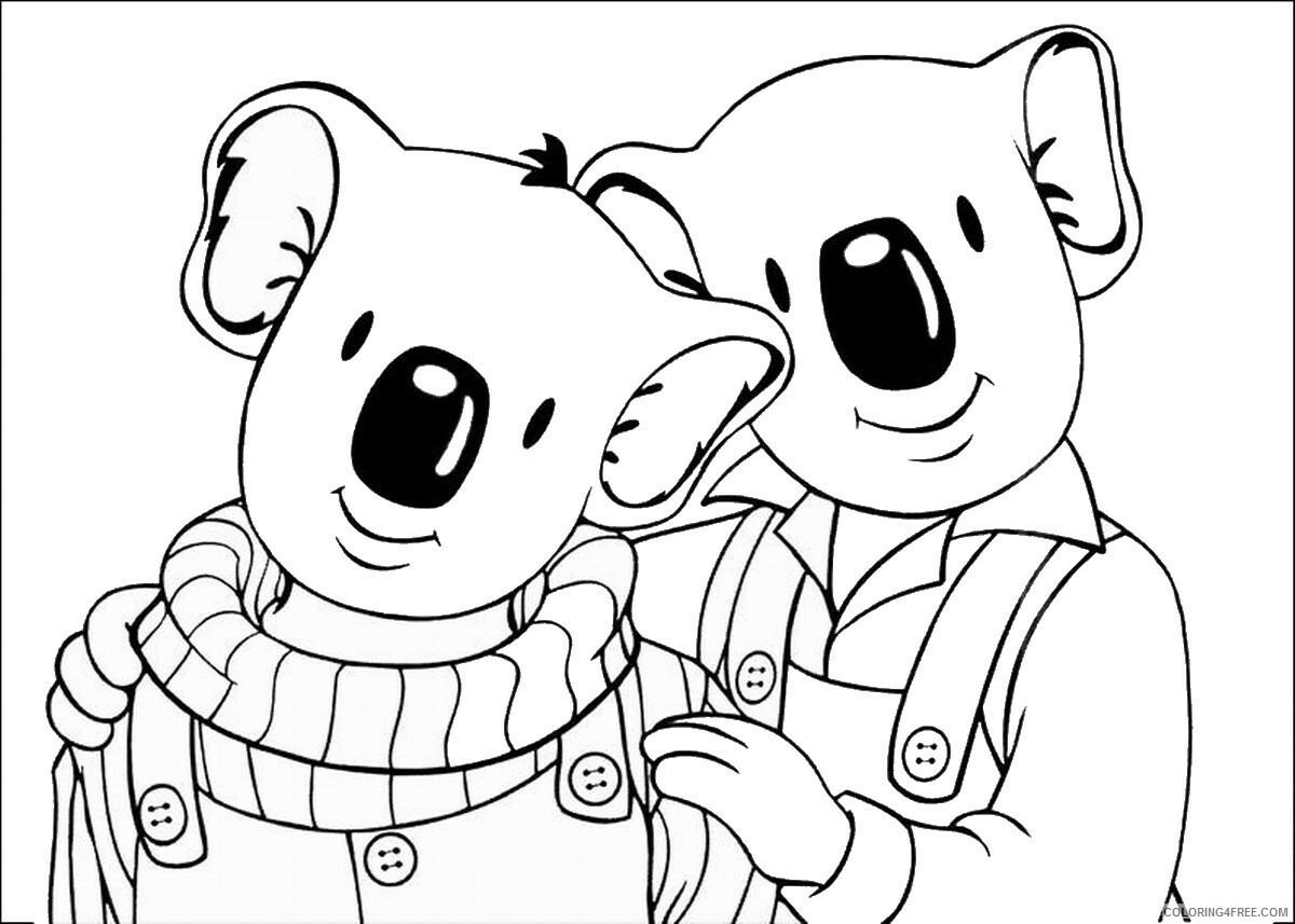 The Koala Brothers Coloring Pages TV Film Koala_Brothers_31 Printable 2020 09025 Coloring4free