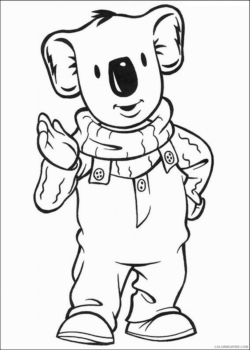 The Koala Brothers Coloring Pages TV Film Koala_Brothers_32 Printable 2020 09026 Coloring4free
