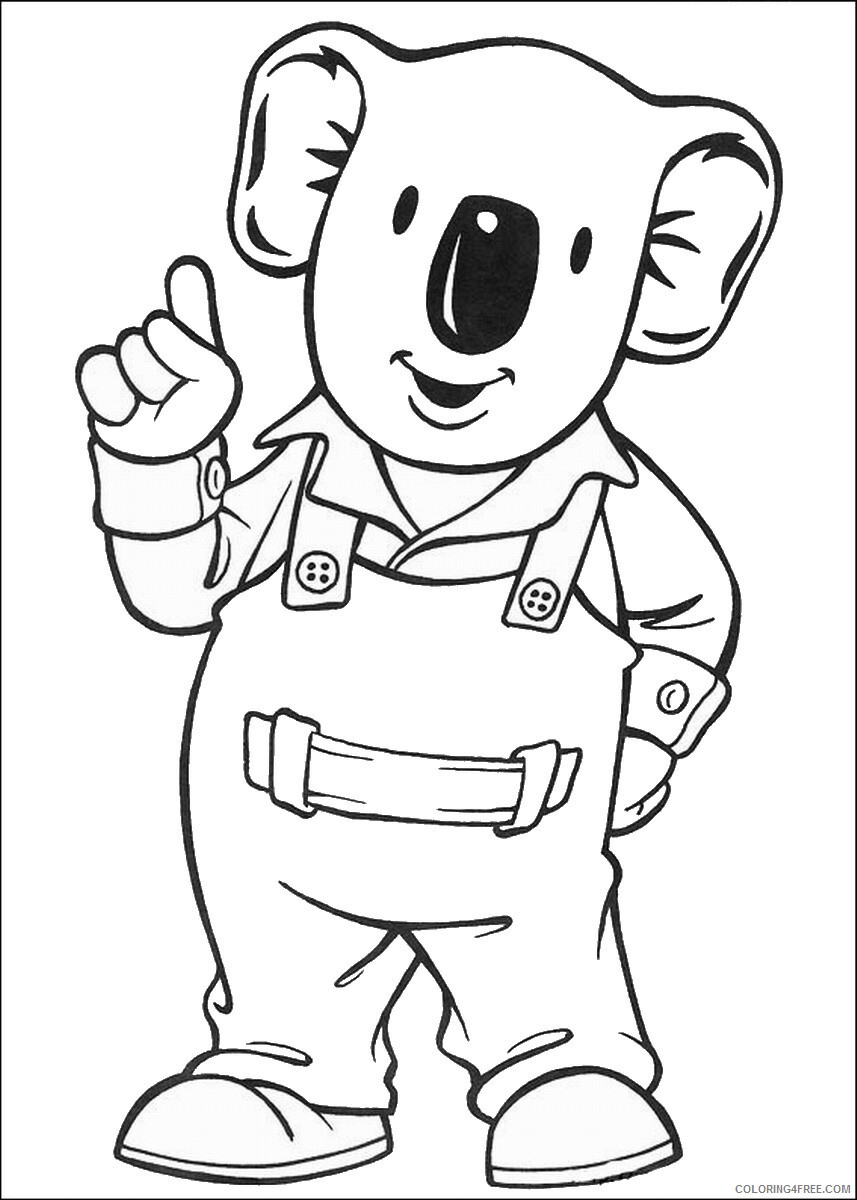 The Koala Brothers Coloring Pages TV Film Koala_Brothers_33 Printable 2020 09027 Coloring4free