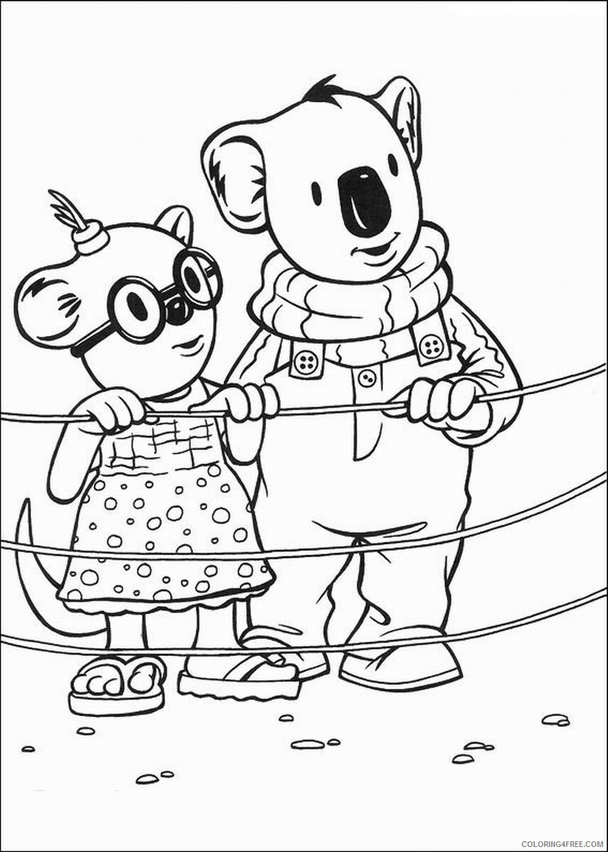 The Koala Brothers Coloring Pages TV Film Koala_Brothers_35 Printable 2020 09029 Coloring4free