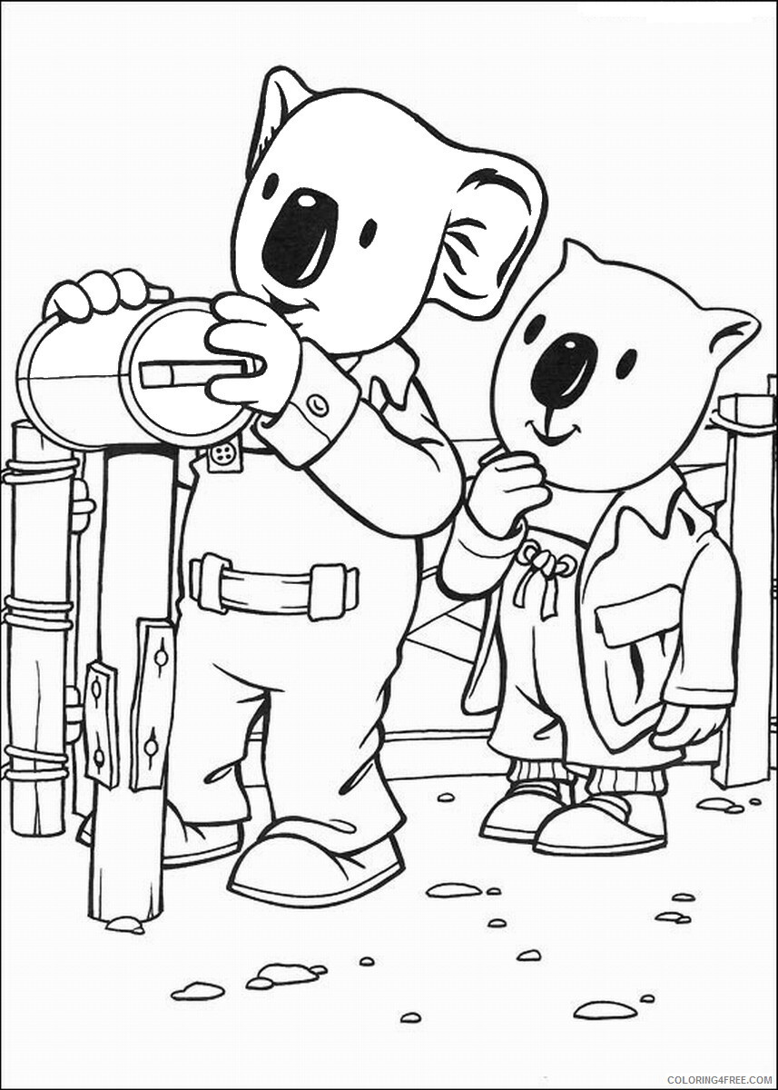 The Koala Brothers Coloring Pages TV Film Koala_Brothers_36 Printable 2020 09030 Coloring4free