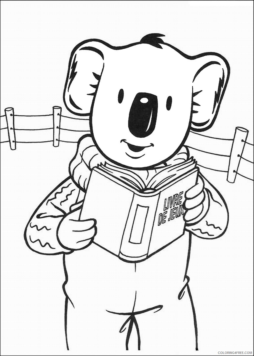 The Koala Brothers Coloring Pages TV Film Koala_Brothers_38 Printable 2020 09032 Coloring4free