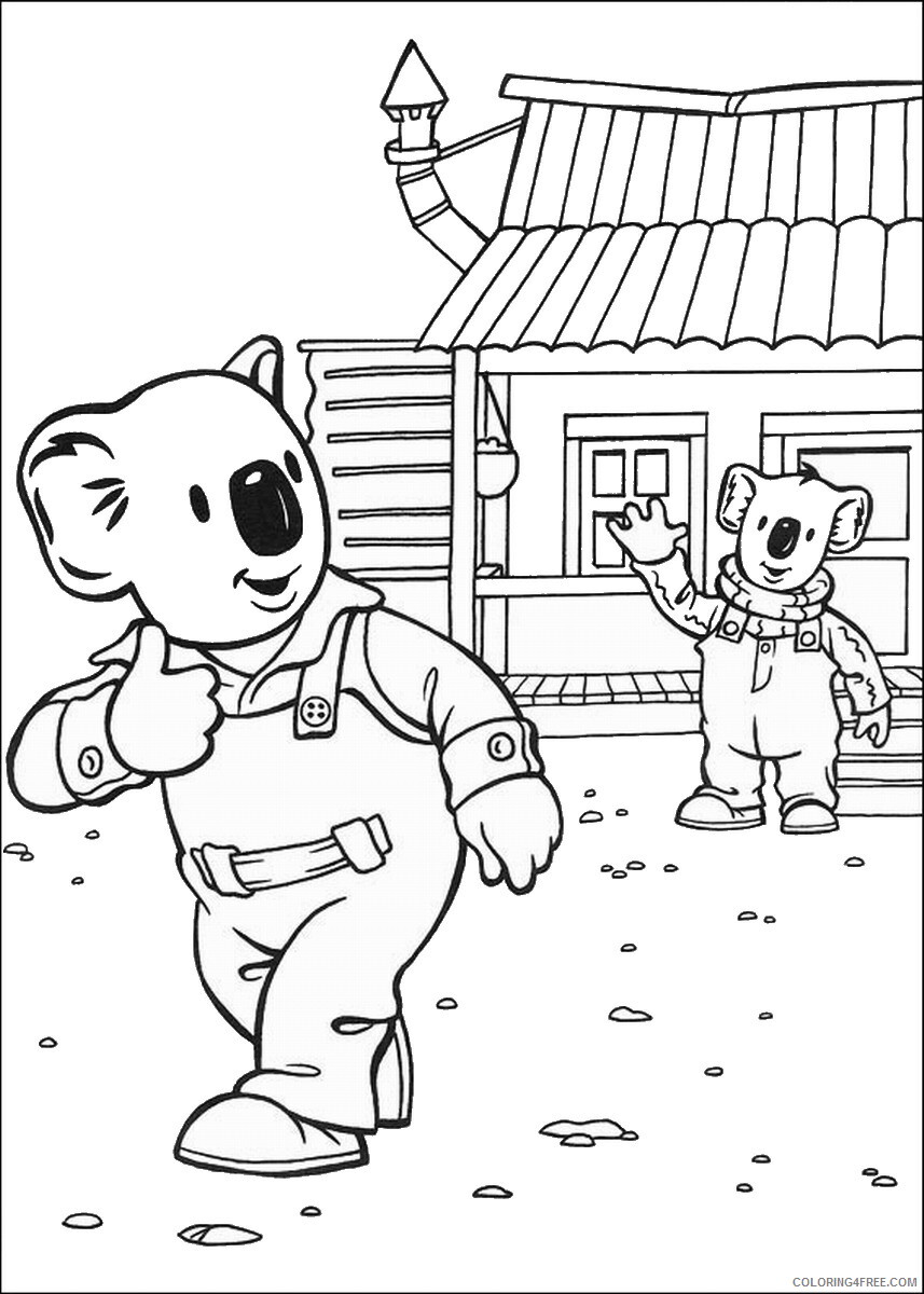 The Koala Brothers Coloring Pages TV Film Koala_Brothers_40 Printable 2020 09034 Coloring4free