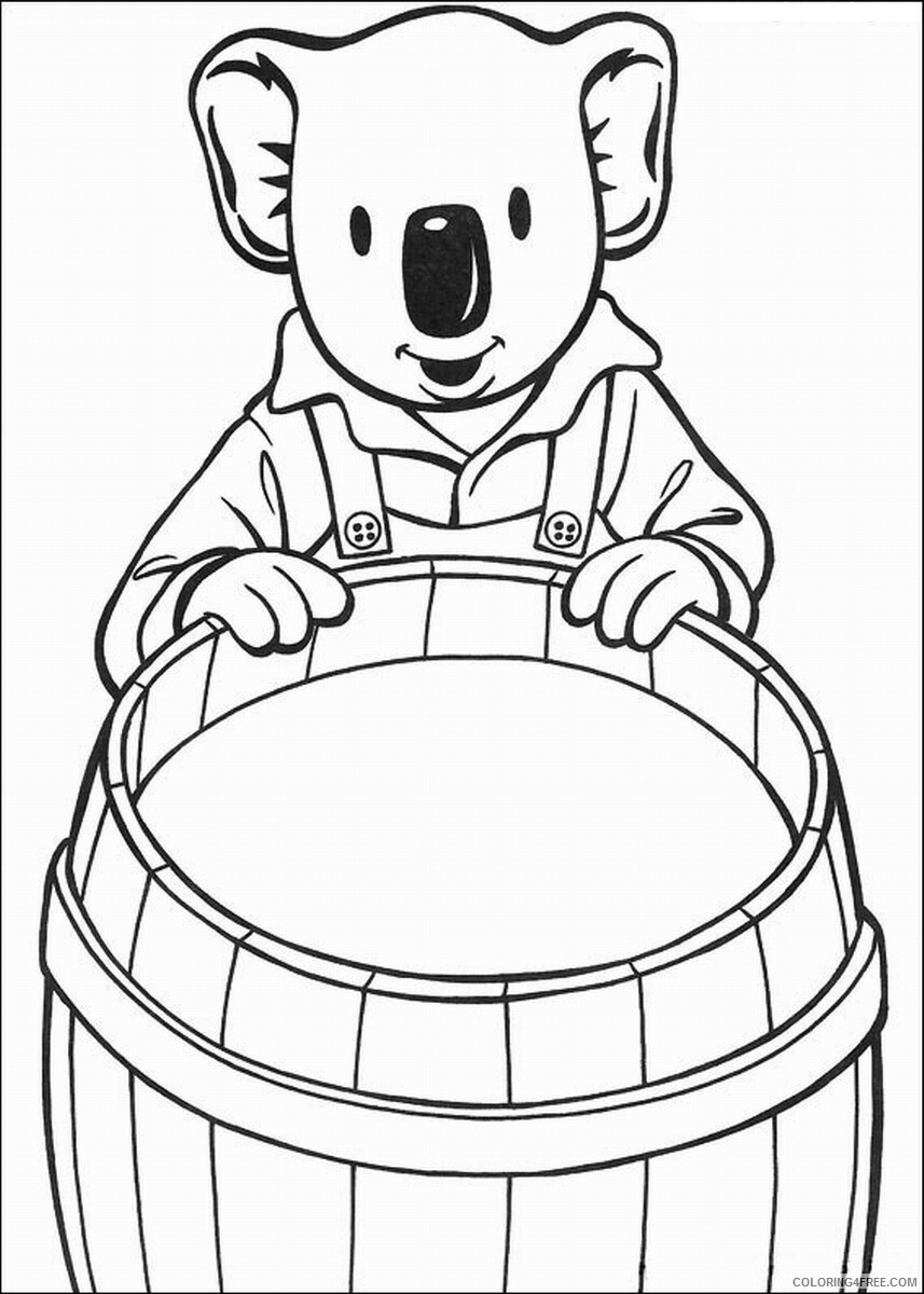 The Koala Brothers Coloring Pages TV Film Koala_Brothers_41 Printable 2020 09035 Coloring4free