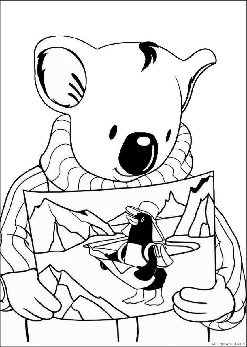 The Koala Brothers Coloring Pages TV Film Koala_Brothers_6 Printable 2020 09039 Coloring4free
