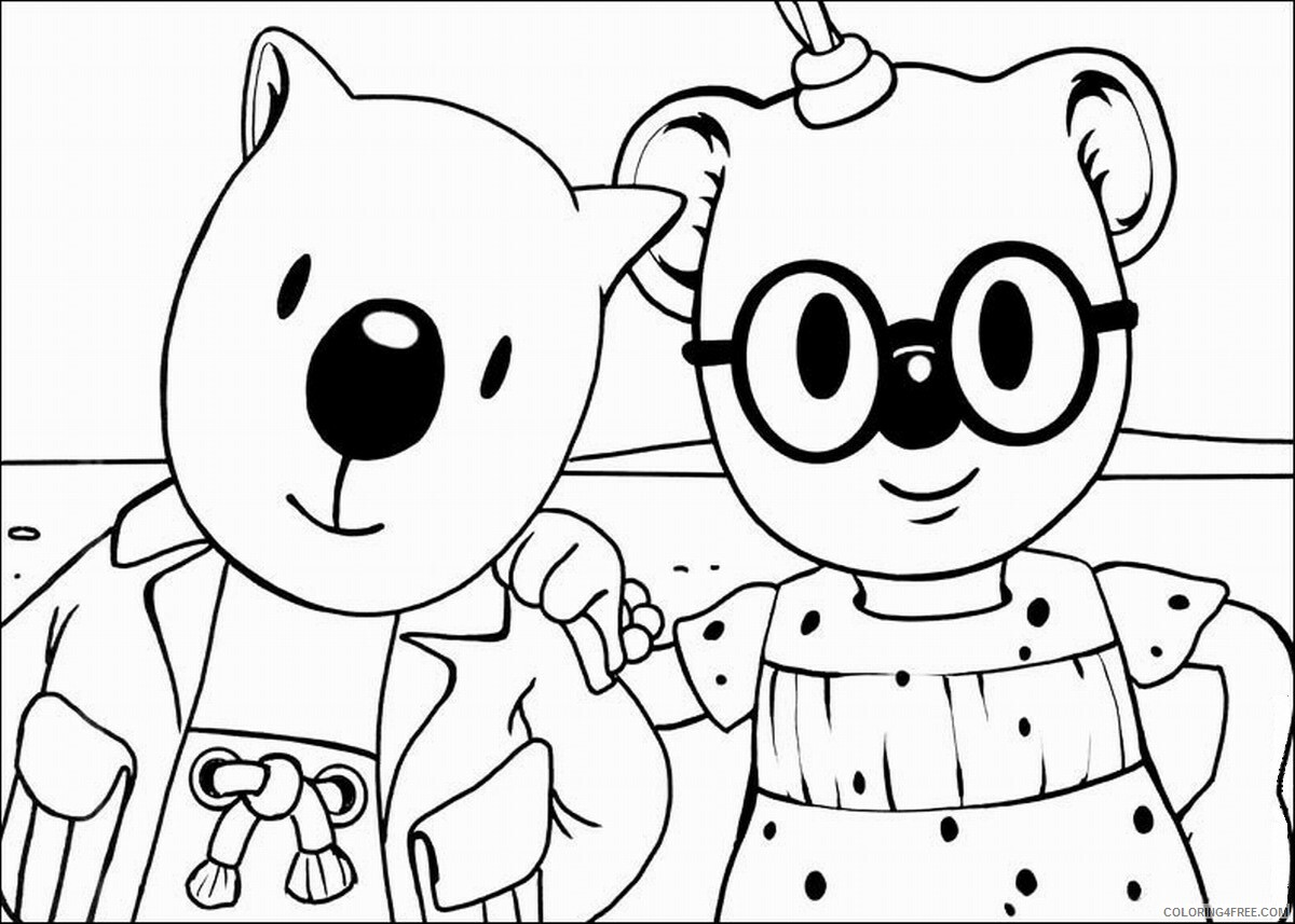 The Koala Brothers Coloring Pages TV Film Koala_Brothers_8 Printable 2020 09041 Coloring4free