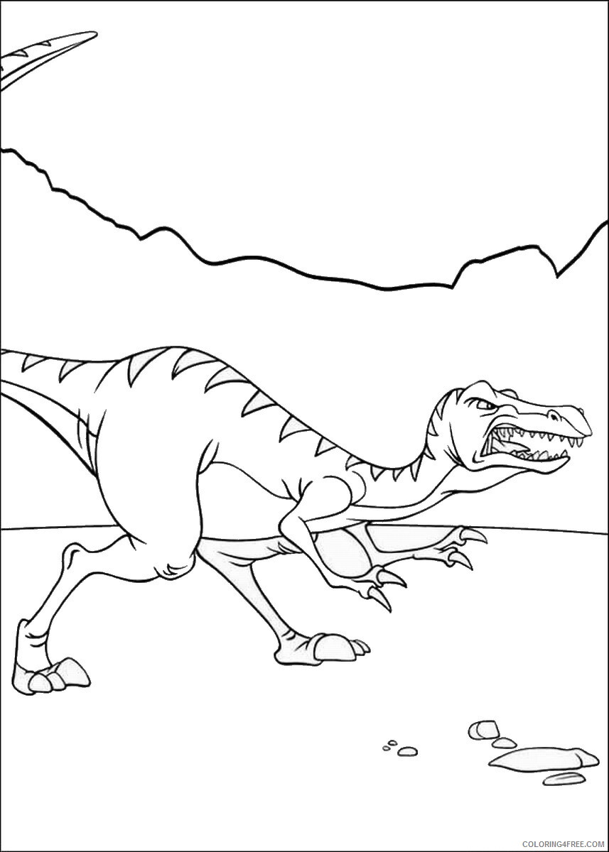 The Land Before Time Coloring Pages TV Film Printable 2020 09055 Coloring4free