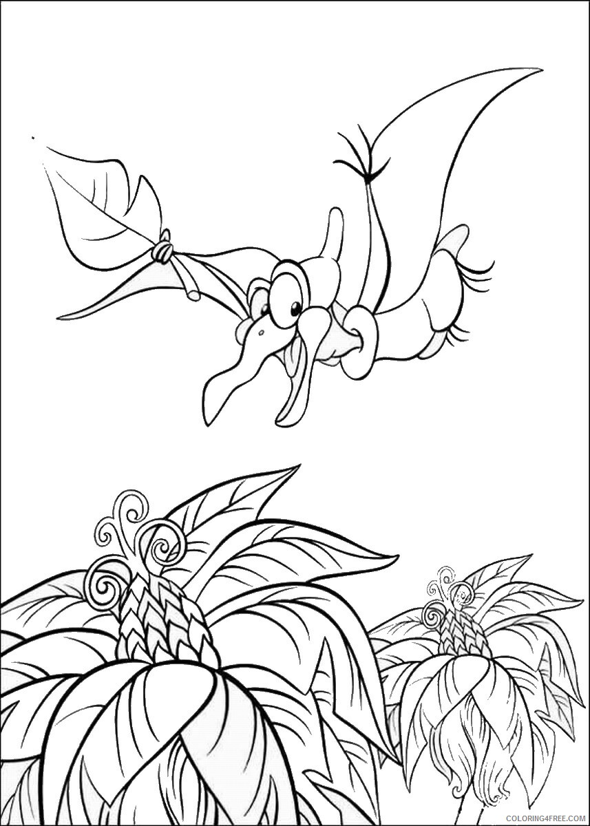 The Land Before Time Coloring Pages TV Film Printable 2020 09057 Coloring4free