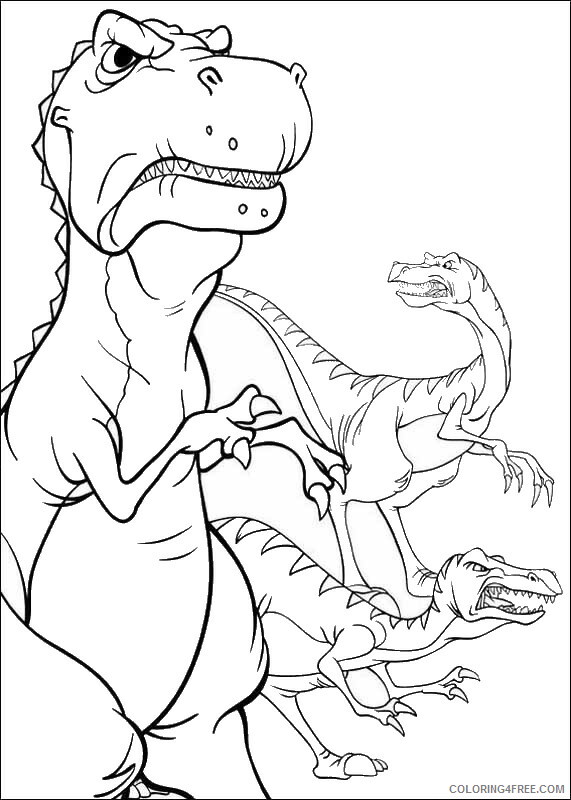 The Land Before Time Coloring Pages TV Film Printable 2020 09061 Coloring4free