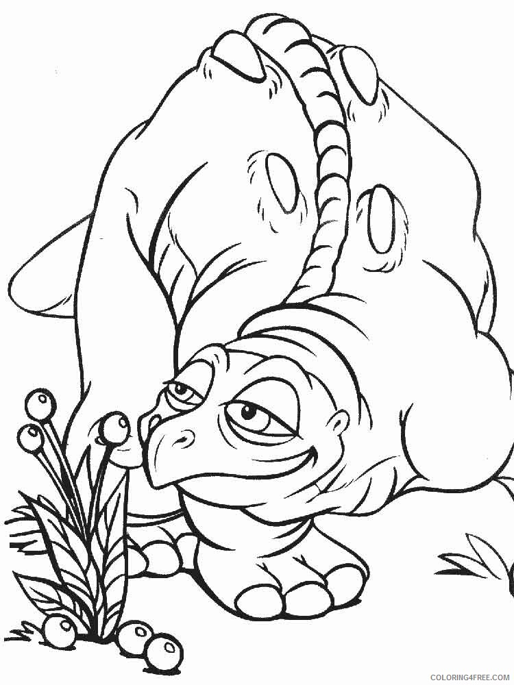 The Land Before Time Coloring Pages TV Film Printable 2020 09078 Coloring4free