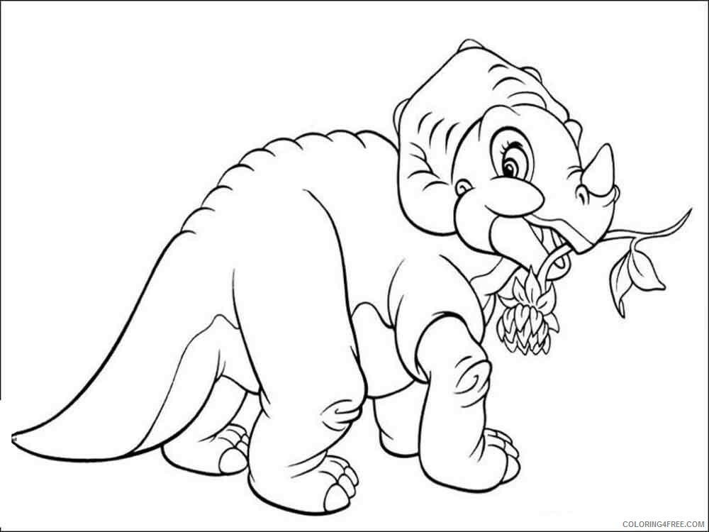 The Land Before Time Coloring Pages TV Film Printable 2020 09081 Coloring4free
