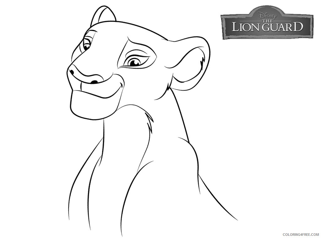 The Lion Guard Coloring Pages TV Film Free Lion Guard Printable 2020 09095 Coloring4free