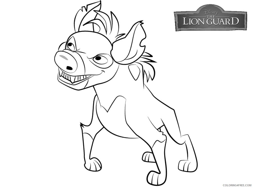 The Lion Guard Coloring Pages TV Film Lion Guard Free Printable 2020 09099 Coloring4free