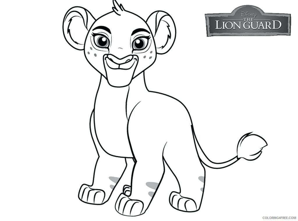 The Lion Guard Coloring Pages TV Film Lion Guard Printable 2020 09098 Coloring4free