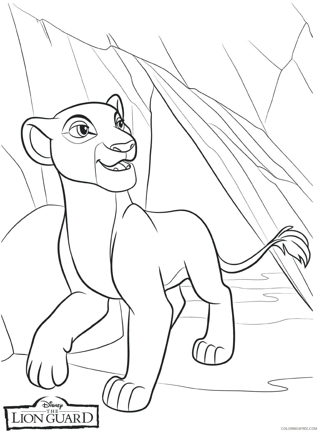 The Lion Guard Coloring Pages TV Film Print Free Lion Guard Printable 2020 09108 Coloring4free