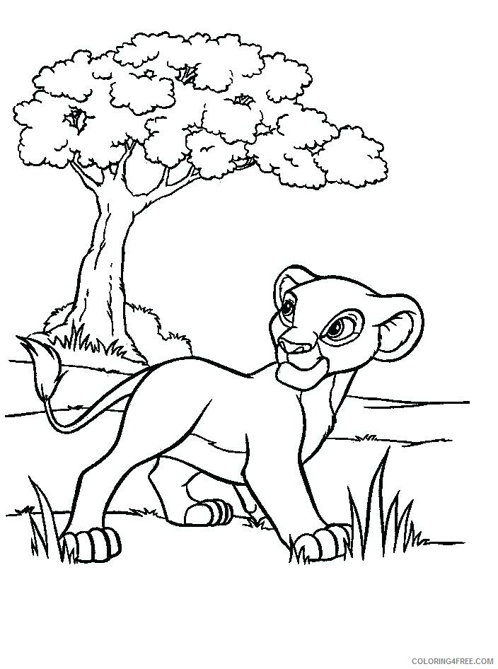 The Lion Guard Coloring Pages TV Film Print Free Lion Guard Printable 2020 09109 Coloring4free