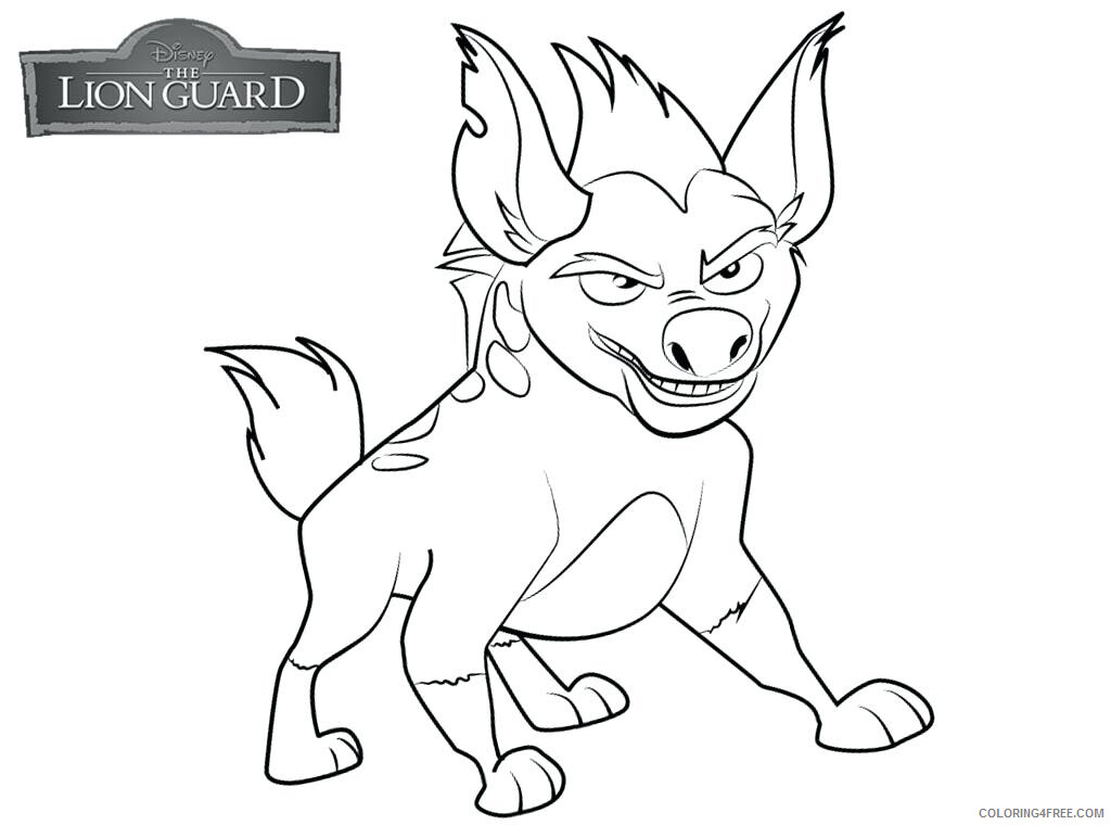 The Lion Guard Coloring Pages TV Film Printable Lion Guard Printable 2020 09107 Coloring4free