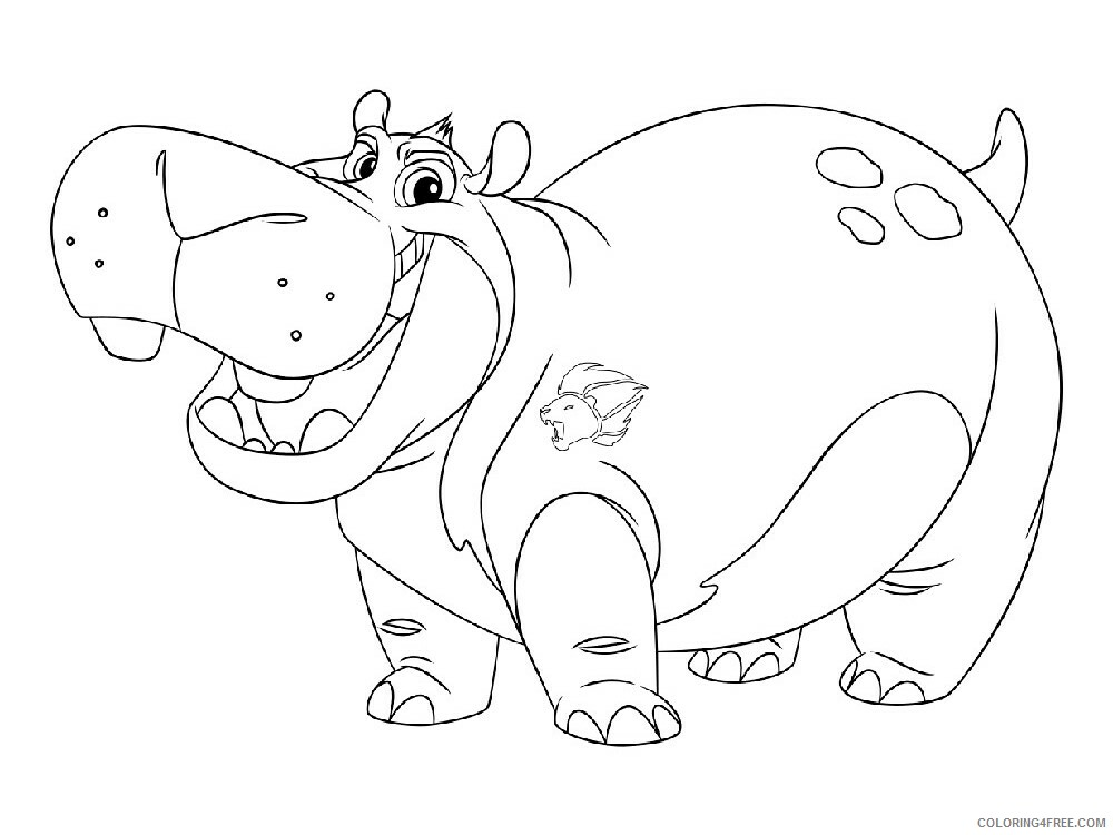 The Lion Guard Coloring Pages TV Film The Lion Guard 13 Printable 2020 09116 Coloring4free