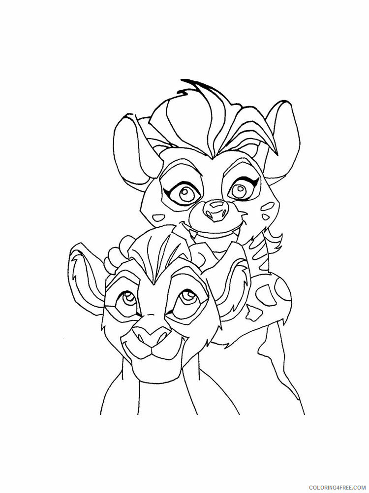The Lion Guard Coloring Pages TV Film The Lion Guard 6 Printable 2020 09124 Coloring4free