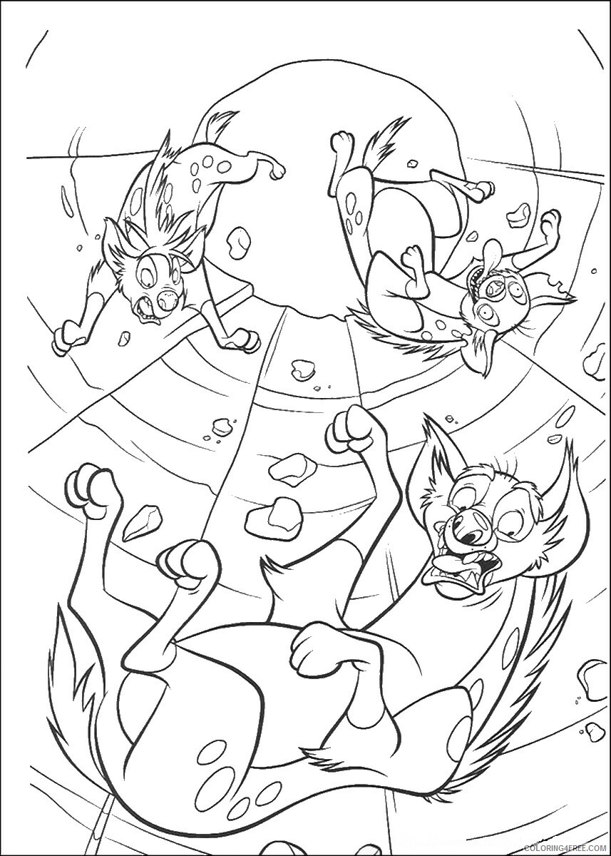 The Lion King Coloring Pages TV Film lionking_103 Printable 2020 09143 Coloring4free