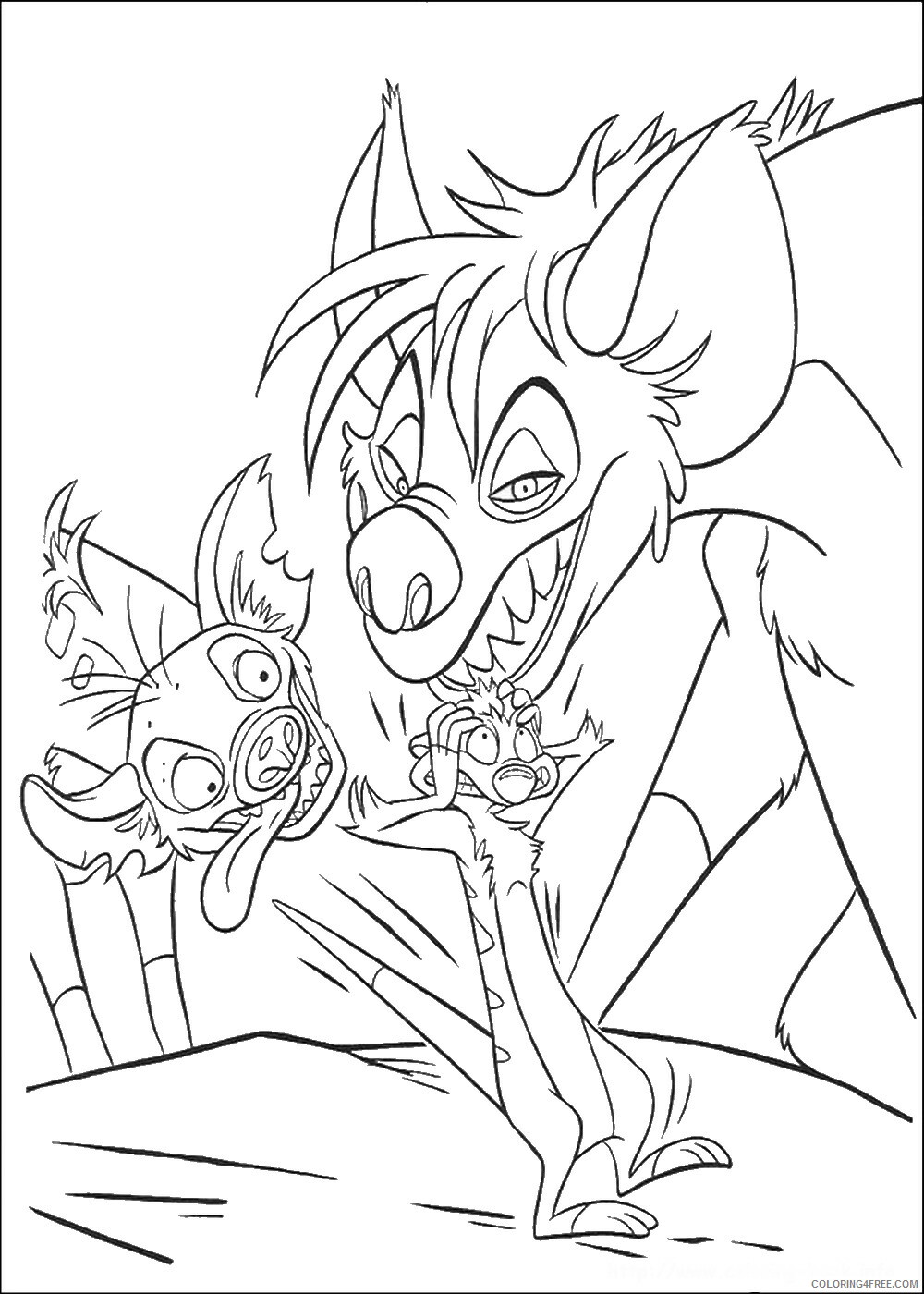 The Lion King Coloring Pages TV Film lionking_35 Printable 2020 09160 Coloring4free